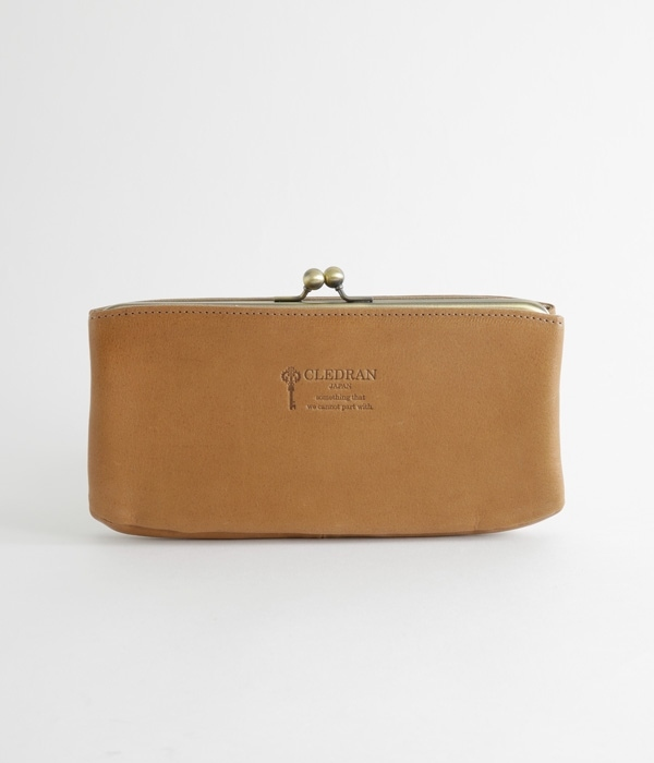 NUA PURSE LONG WALLET/CL-2305(E・ダークベージュ)